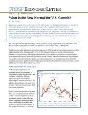 What Is the New Normal for U.S. Growth .pdf