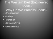 Engineering lecture Western Diet-12-8-11-1