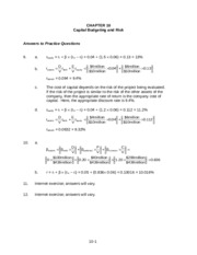 bma-Chapter10 solution