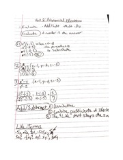 Polynomial and Inequalities