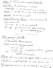 Lecture Notes Jan_27