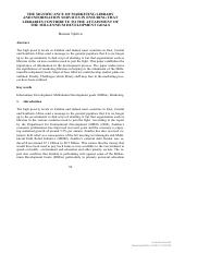 [9783598441257 - Libraries and Information Services towards the Attainment of the UN Millennium Deve