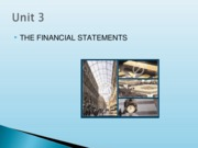 Financial Statements Presentation