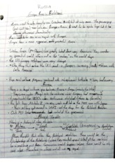 Class Notes - Russian Perspective