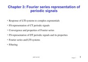03_Fourier Series Representation of Periodic Signals