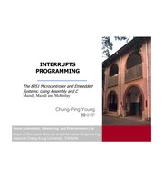 Interrupts Programming chapter 11