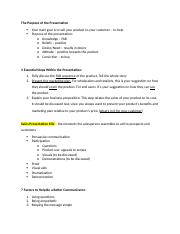 principles of selling ch 11 notes