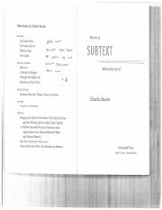 """The Art of Subtext"" by Charles Baxter.pdf"