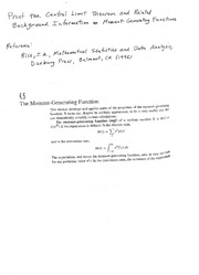 Proof_Central_Limit_Theorem