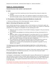 Federal Income Tax Fall 2016 - Homework notes Chapter 14 - Business Deductions.docx