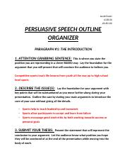 JOUR 130 PERSUASIVE SPEECH OUTLINE ORGANIZER.docx