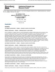 DAY 3 - Abbot Labs v Sandoz