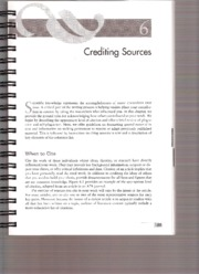 Additional Resource - APA Handbook - Crediting Sources0