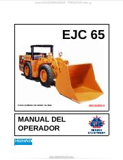 Manual de Partes Tamrock E65 pdf - EJC 65 FOR SERIAL NUMBER 65-3721