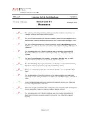 ARC 225-F 13 Quiz 5-2014-01-09-ALL-ANSWERS