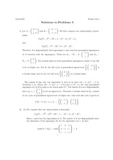 Math 325 Assignment 3 Solutions