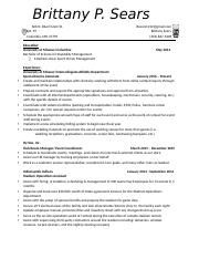 Resume 4 - Brittany P. Sears.docx