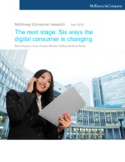 5 The next stage six ways the digital consumer is changing