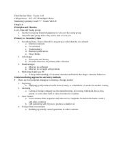 Final Review Sheet 1