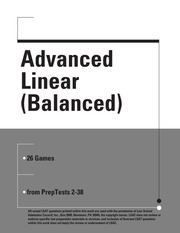 Advanced Linear Balanced
