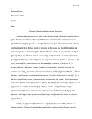Climate Change and International Relations.docx