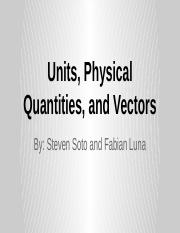 University Physics Volume 1 Packet 1