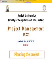 (2) Planning the project_2014.pdf