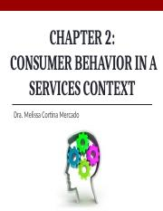 Chap2_Consumer Behavior in Services