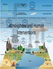 Atmosphere and Human Interventions.ppt