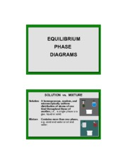 6.1-Equil Phase Diagrams