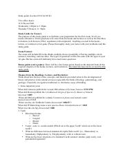 Study guide_exam 2 Part II