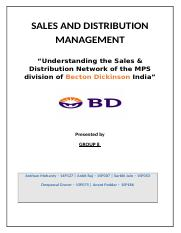 About Becton Dickinson India BD operates in India through a wholly