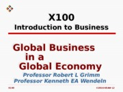 L02 Global Business in Global Economy