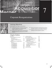 Corporate Reorganizations(text book)