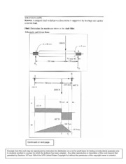 Stepped Shaft Bearing Quiz