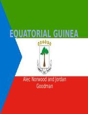 Jordan Goodman and ALec Norwood Equatorial Guinea