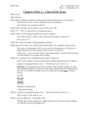 Chapter 4 Part 2 - Class Notes