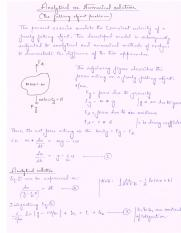 Lec 1.Analytical vs Numerical solution