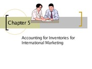 Inventory for International Marketing Lecture Slides