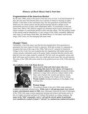Music_Unit 2 Study Guide Part 1 The Folk Music Legacy