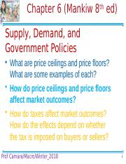 Chapter 6 Supply, Demand, and Government Policies (1).pptx