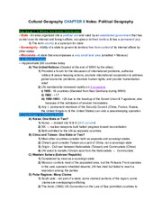 CulturalGeographyCH.8Notes