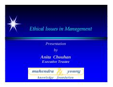 Ethical Issues in Management -lec 6-8 [Compatibility Mode]