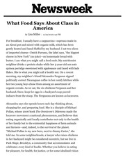 What Food Says About Class in America