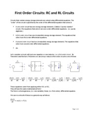 First_Order_Circuits