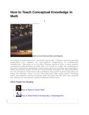How to Teach Conceptual Knowledge in Math.doc
