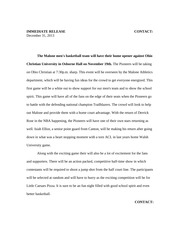 media kit for journalism - Essay