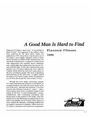 a_good_man_is_hard_to_find