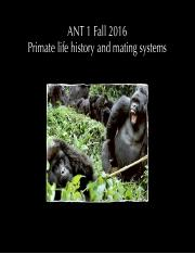 ANT+1+-+13+Primate+life+history+and+mating+systems