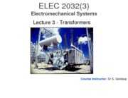 Lecture 3 - Transformers I - Student